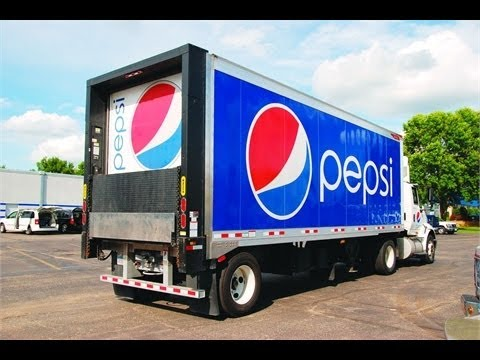Pepsi trucks uses hydrogen in chinese