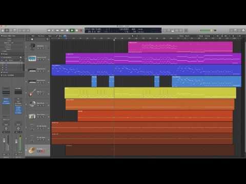 Airlane Gary Numan Cover - Logic X