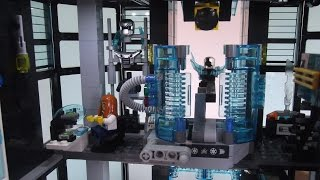 Ultra Agents Tower - Original Lego creation by Jake Roos