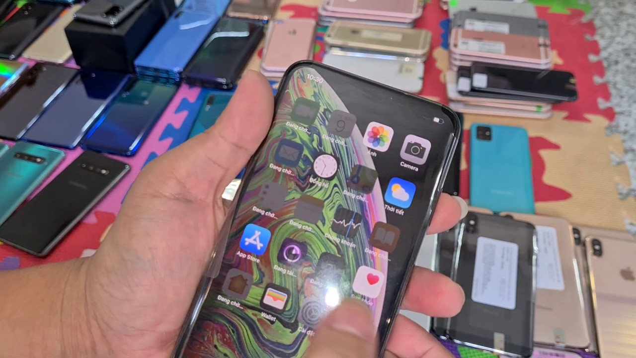9 tháng 7 - 2020 , iphone xs max 64gb keng , Redmi note 9s , Oppo A5 2020 128gb , A51, A50s ,A50,..