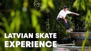 Latvia's Best Skateboarding Spots w/ Madars Apse