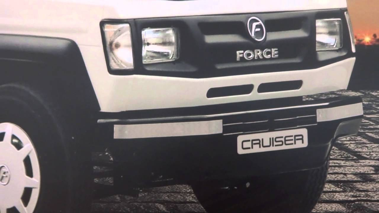 Force Motors Trax Cruiser at Bus & Special Vehicle Show - YouTube