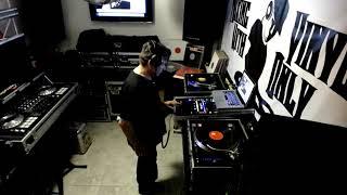 DJ Gig Mixing Vinyl Records DJ Marco Time