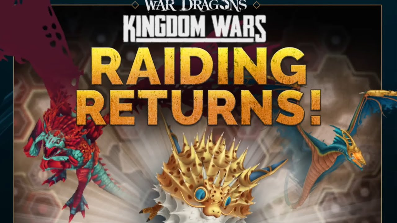 War Dragons: RAID FEATURE IS BACK!
