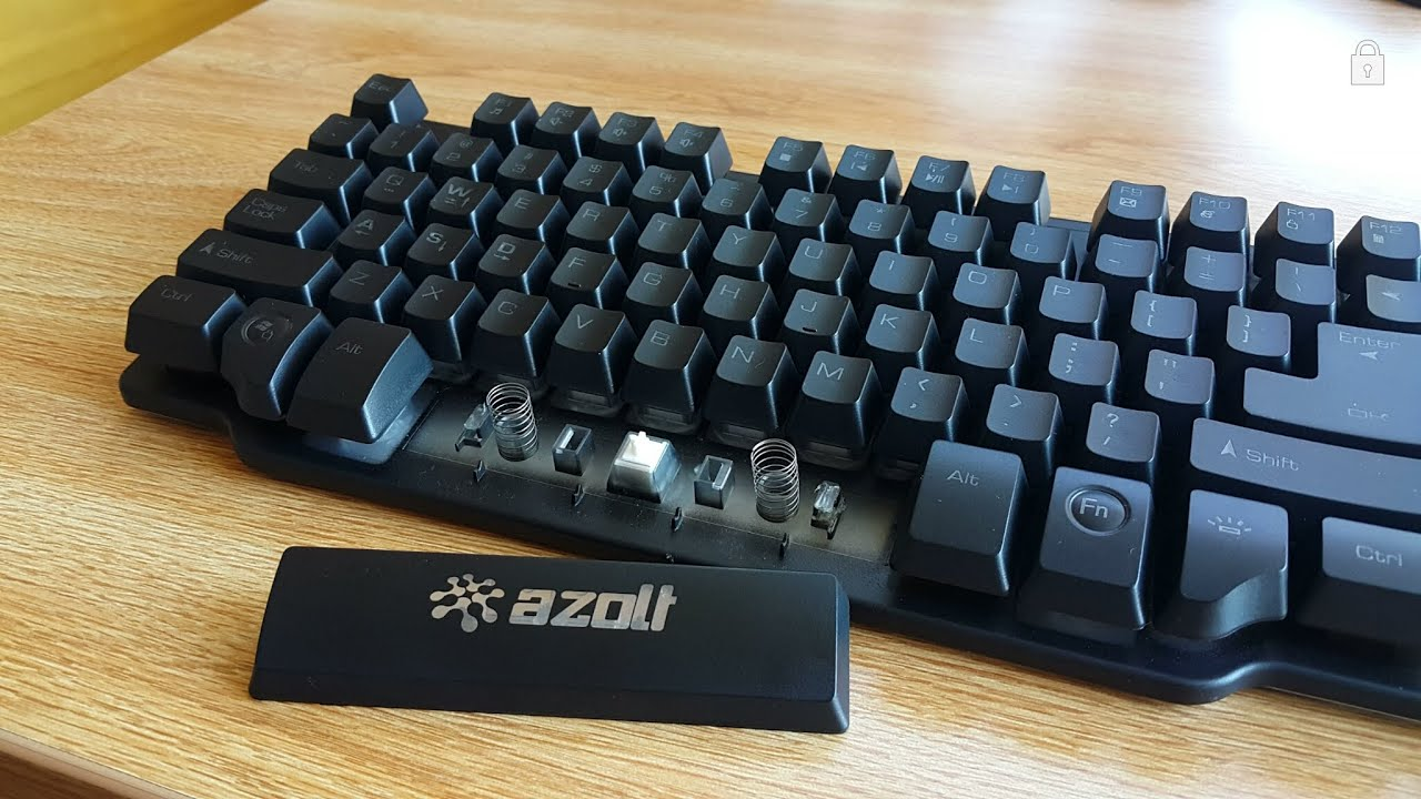 d73d2efef5a Azolt gReformer Half-Mechanical Gaming Keyboard Review! - YouTube