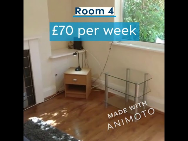 Furnished Single Room for Rent in Shirebrook Main Photo