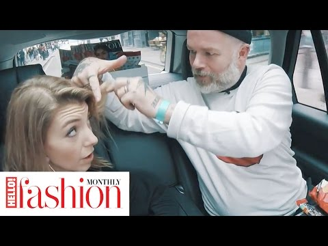Hair stylist Adam Reed Talks LFW hair trends & his ultimate fashion icons for #HFMFashionSpin