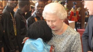 Ugandan orphan who hugged the Queen