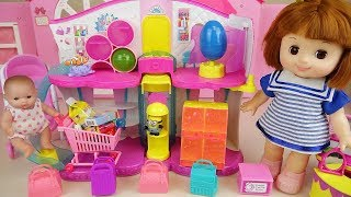 Baby doll and Surprise shop Surprise eggs toys play