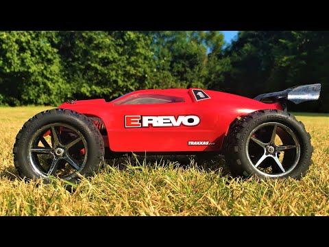 new-life-to-the-traxxas-mini-e-revo-1/16-vxl-brushless-rc-car-(part-2):-first-quick-test-run!
