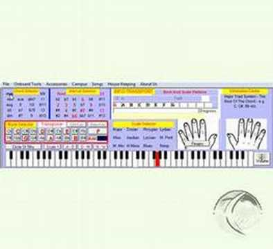 Edutronics Virtual Academy of Music Chord Calculator