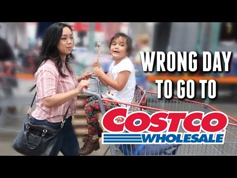 We Picked the Wrong Day for Costco - itsjudyslife thumbnail
