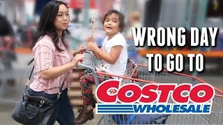 We Picked the Wrong Day for Costco - itsjudyslife