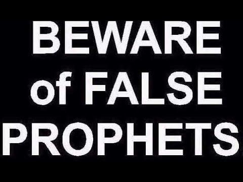 ISRAEL!!! BEWARE OF FALSE PROPHETS!!!