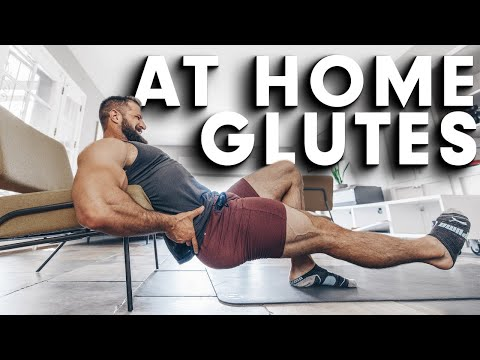 Grow Your Glutes AT HOME (NO EQUIPMENT!!)