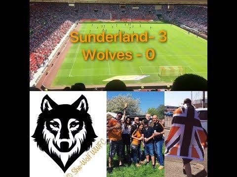 Wolves 0 3 Sunderland My Match Highlights 06/05/18