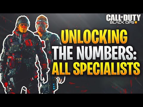 How to unlock EVERY numbers outfit in black ops 4!/EASY way to unlock ALL numbers outfits! (COD BO4)