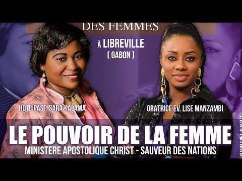 Mega Conférence à Libreville - Gabon ~ Ev. Lise Manzambi