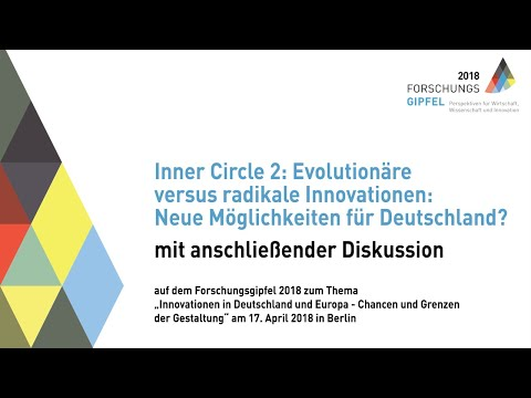 Forschungsgipfel 2018 -  Diskussion Inner Circle 2
