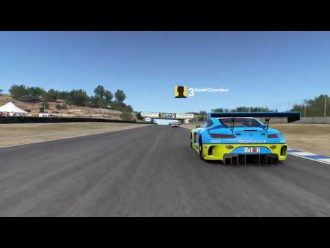 Mercedes-Benz SLS AMG GT3 on Laguna Seca - Max vs AI