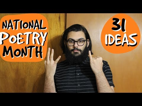 31 Poetry Ideas For NaPoWriMo