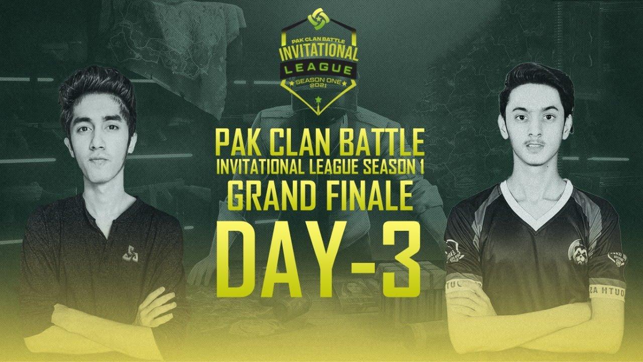 PCB Invitational League S-1 GRAND FINALE   Day 3   Pak Clan Battle