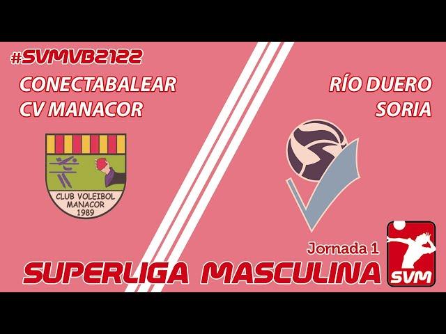 CONECTABALEAR C.V.MANACOR - RIO DUERO SORIA