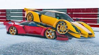 LO APLASTO!! - CARRERA GTA V ONLINE - GTA 5 ONLINE