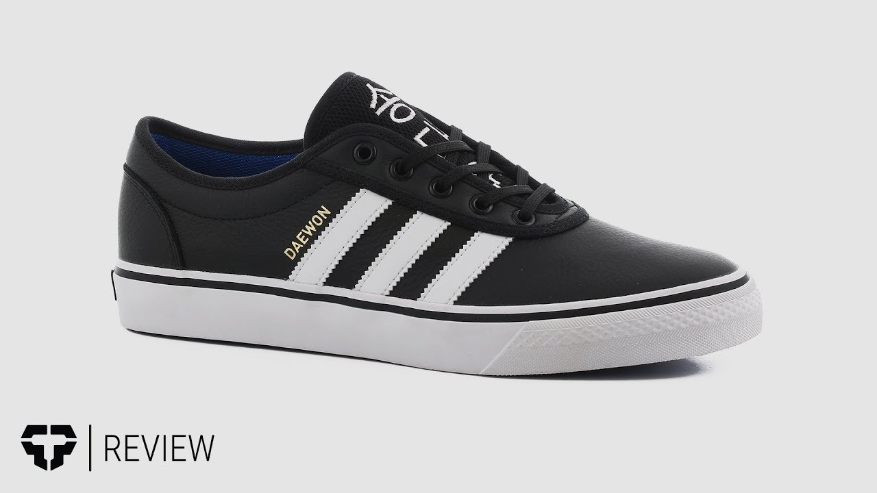 san francisco 70940 4e4cc Adidas Adi Ease Daewon Skate Shoes Review - Tactics.com