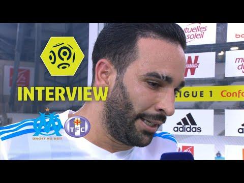 Interview de fin de match : Olympique de Marseille - Toulouse FC (2-0) - Ligue 1 Conforama / 2017-18