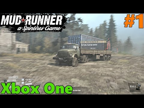 SpinTires Mud Runner: XBOX ONE GAMEPLAY! Let's Play Part 1 | THE BOG, TC and JeepGuy
