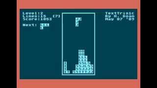 textris for Atari 8-bit