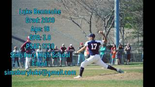 Luke Benneche - Class of 2020 RHP/OF/1B - 2018 Baseball Highlights
