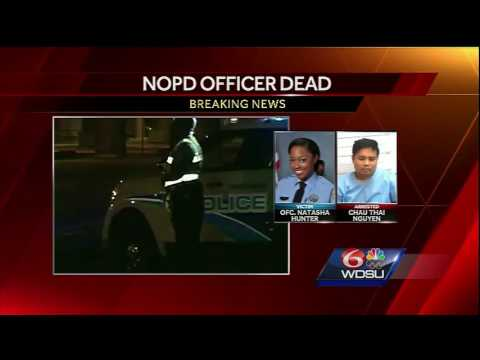Here's the latest on the death of New Orleans police Officer Natasha Hunter