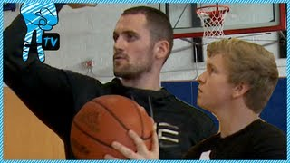 How to Shoot a 3-Pointer with NBA Pro Kevin Love - How To Be Awesome Ep. 14