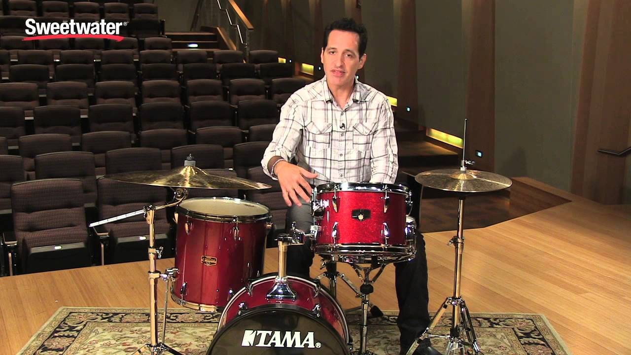 tama imperialstar bop acoustic drum kit review sweetwater sound youtube. Black Bedroom Furniture Sets. Home Design Ideas