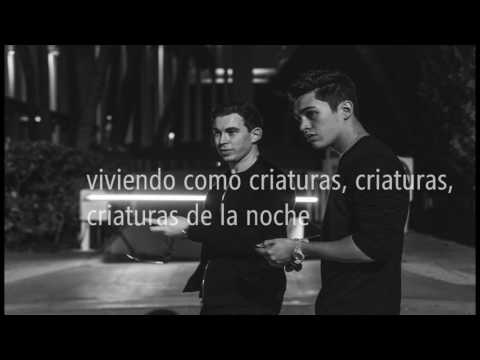 Hardwell ft Austin Mahone - Creatures Of The Night |español|