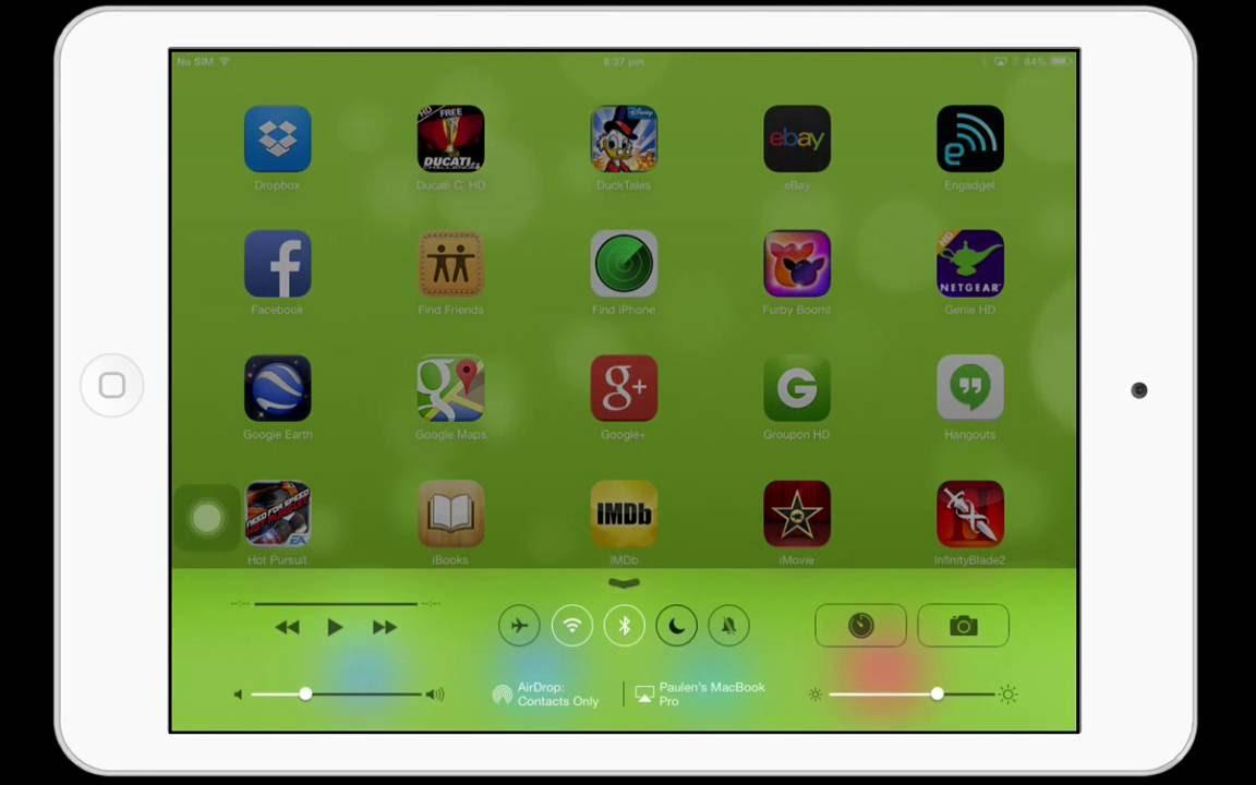 How To Remove Moon Icon On Ipad Iphone Ios 7 Status Bar Youtube