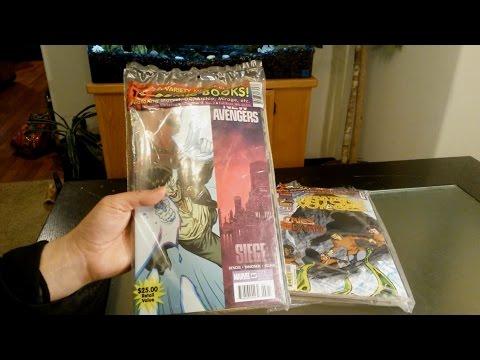 Comic Book Value Packs Unbagging 2