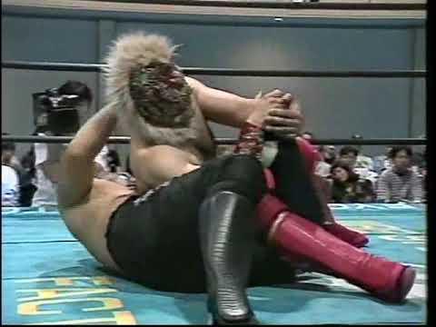 Masashi Aoyagi & Gokuaku Umibozu Vs. Azteca & Basara (WDF 5/25/1997)