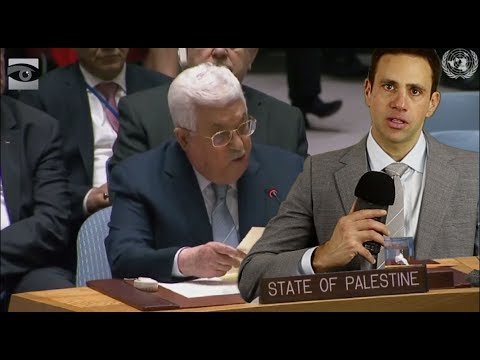 HR Visits Palestinian President Abbas at the UN