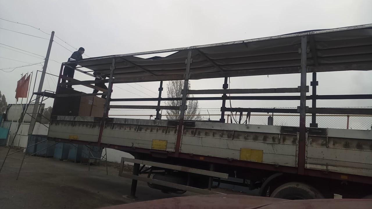 12 фев 2014. Демонстрация установки коников на полуприцеп 12,6м оборудование произведено и установлено компанией