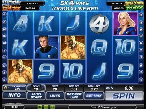 Игровые автоматы fantastic four игровые автоматы зло лудомания