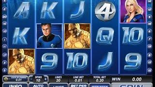 Секрет игрового автомата Фантастическая четверка (Fantastic Four)