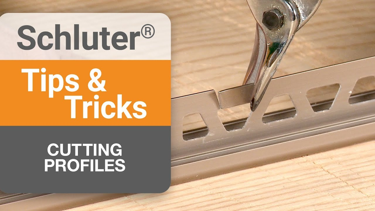 tips on cutting profiles