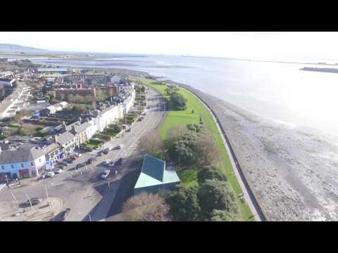 dji phantom 3 footage of dublin bay clontarf