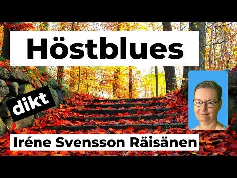 HÖSTBLUES diktvideo av poeten Iréne Svensson Räisänen