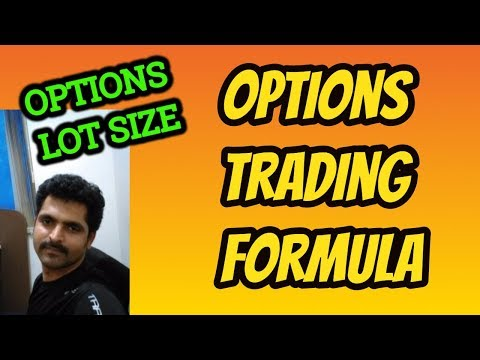 Options Trading in Tamil - 20 | Options Trading Formula and Lot Size