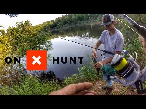 How I Use The Hunt App To Find JUICY Fishing Ponds