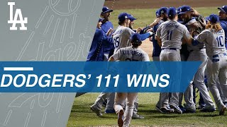 Dodgers have won 111 games thus far in 2017